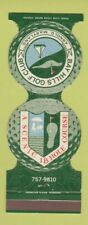New listing Matchbook Cover - Bay Hills Golf Club Arnold MD Jewelite