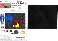 Model Maker 1/72 DORNIER Do-17Z-2 Paint Mask Set for ICM Model
