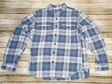 J Crew Trade & Co Mark Sporting Goods Flannel Shirt Medium