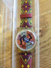 "Swatch Rare Vintage LE Special Watch GJ116 ""WANAYARRA TJUKURRPA"" Originals Gent"