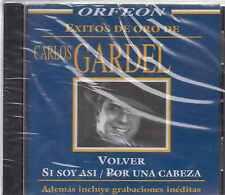 CD - Carlos Gardel NEW Volver Si Soy Asi/Por Una Cabeza FAST SHIPPING !