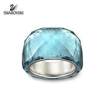$155 Swarovski Indicolite Blue Crystal NIRVANA RING PETITE (Small/52/6) #1103233
