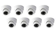 8 Camera Pack: 2 megapixel 1080P HD security IR dome camera 3.6mm lens IP66 HDCV
