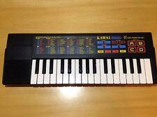 Kawai MS20 vintage electronic keyboard synthesizer organ toy piano Rare bending