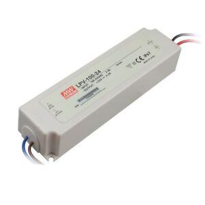 Mean Well LPV-100-24 LED Power Supply 24V 100W IP67