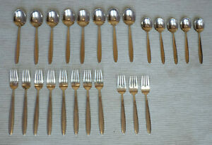24 Pieces Vintage WMF Cromargan Present Korea Stainless Flatware