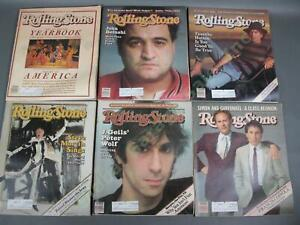 25 COMPLETE VINTAGE 1982 Rolling Stone Magazine Collection Set LOT Full Year Run