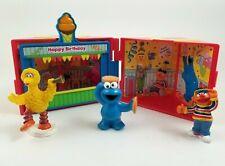 """Mattel Sesame Street Happy Birthday Gift Box 4"""" Sq 2006"""
