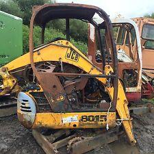JCB 8015 Mini Digger Excavator Dismantling !!! Boom Only !!!