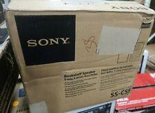 New listing Sony Sscs5 3-Way 3-Driver Bookshelf Speaker System (Pair)