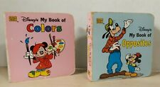 Disney's 2-For-1 Little Nugget Board Books: Colors & Opposites
