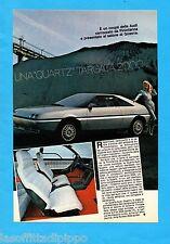 ALTOP981-PUBBLICITA'/ADVERTISING-1981- AUDI - QUARTZ-AUDI-QUATTRO