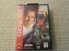 True Lies - Authentic - Sega Genesis - Case / Box Only!