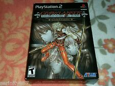 Growlanser Heritage of War Limited Edition US NTSC Playstation 2 PS2