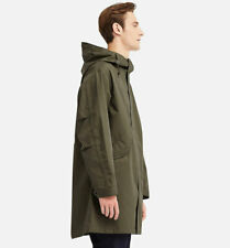 Uniqlo Blocktech Fishtail Parka Jacket Olive Green SIZE L