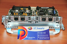 Cisco NM-2V Module w VIC-2FXO & VIC-2FXS modules 6MthWty TaxInv CCNA CCNP CCVP