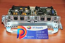 Cisco NM-2V Module w VIC-2FXO & VIC-2FXS modules 6MthWty TaxInv CCNA CCNP CCVP