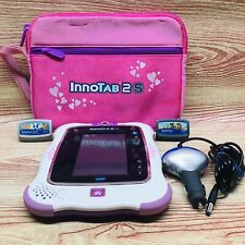 VTech InnoTab 2S Wi-Fi Learning App Tablet With 2 Games SD Card And Car Charger