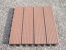 Verdemax 9pz 30x30 cm piastrella mattonella pavimento ecologico giardino piscina