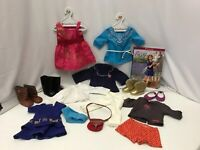 "American Girl 18"" Doll Clothes Saige Copeland Meet Pjs Party Outfits Huge Lot 21"