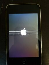 Working Apple iPod touch 2nd Generation A1288, - Black (8 GB) with screen issue