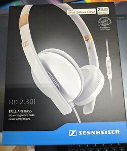 NEW Sennheiser 506790 HD 2.30i On-Ear Headphones / iPhone (White)
