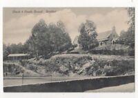 Church & Parade Ground Ranikhet India Vintage Postcard US092
