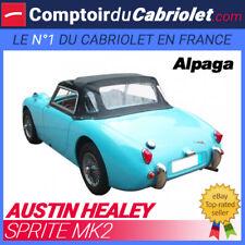 Capote Austin Healey Sprite MK2 cabriolet - Toile Alpaga Stayfast®