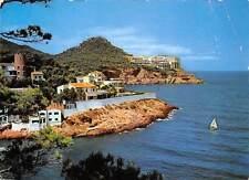 Spain Bagur-Sa Tuna (Costa Brava) Cap Sa Sal Hotel General view Boat