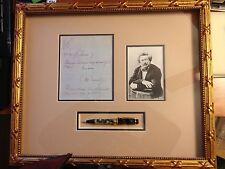 Montblanc Dumas Writer's Series Pencil factory framed presentation