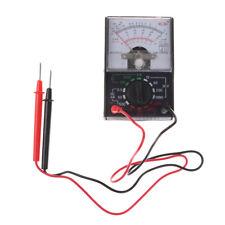 1000V Voltmeter DC/AC 250mA Ammeter 1K Resistance Meter Analog Multimeter KIUSNN