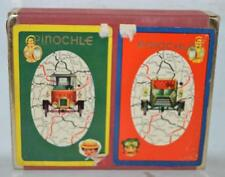 Vintage Pinochle Playing Cards Road Map Automobile Two Decks ~129~