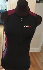 Women's Louis Garneau Cycling/Triathlon Jersey size Large Pro Carbon-New w tags!