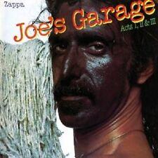 "Frank ZAPPA ""Joe 's Garage acts 1,2 & 3 2"" CD NUOVO"