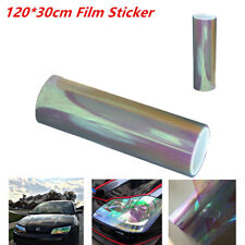200x30cm Purple Chameleon Color Tint Vinyl Film Overlay Wrap Sheet For Headlight