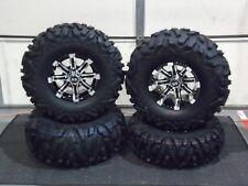 "27"" QUADKING ATV TIRE & CYCLONE WHEEL KIT SRA1CA BIGGHORN 27x9-12  27x12-12"