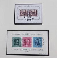 Liechtenstein 1945 bis 1977 gestempelte Sammlung komplett mit Mi-Nr. 304/05 B