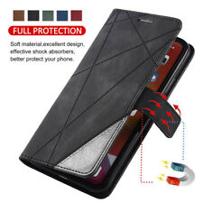 For iPhone SE 2020 11 Pro XS Max Luxury Leather Magnetic Flip Wallet Case Cover