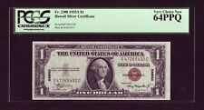 1935-A Hawaii 1$ Silver Certificate Fr-2300 PCGS 64 PPQ Very Choice New (P1207)