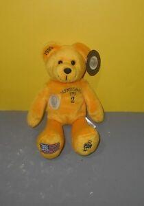 Timeless Toys Collectible Bean Plush Quarter Bear State of Pennsylvania w/ Tag