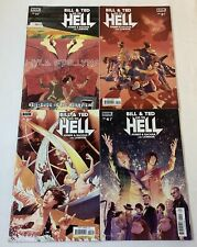 BILL & TED GO TO HELL comics #1 2 3 4 ~ FULL SET Keanu Reeves