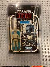 Vintage STAR WARS ROTJ AT-ST Driver UNPUNCHED Return of the Jedi MOC 1983
