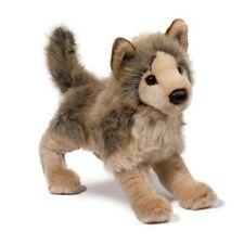 "TYSON Douglas Cuddle plush 12"" GRAY WOLF stuffed animal toy grey"