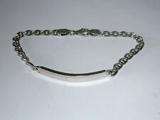 Armband Silber 925 Schildarmband 19,5 cm