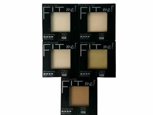 Maybelline Fit Me Set + Smooth Pressed Powder ~ Choose Your Shade