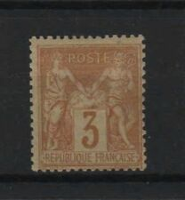 "FRANCE STAMP TIMBRE N° 86 "" SAGE 3c BISTRE - JAUNE "" NEUF x TB A VOIR  R339"
