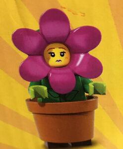 Lego Series 18 Flowerpot Girl  Minifigure