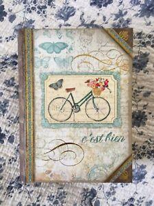 Valentine. Easter. BICYCLE. PUNCH STUDIO.FLOWERS. GARDEN. medium. BOOK BOX.