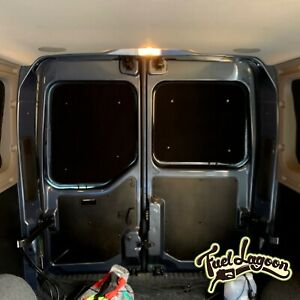 Renault Master Thermal Insulated Blackout Blinds Rear Barn Door Screens Movano