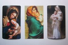Lot of 3 Madonna and Child Magnets